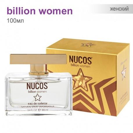 Туаленая вода для Женщин Nucos - Billion Women