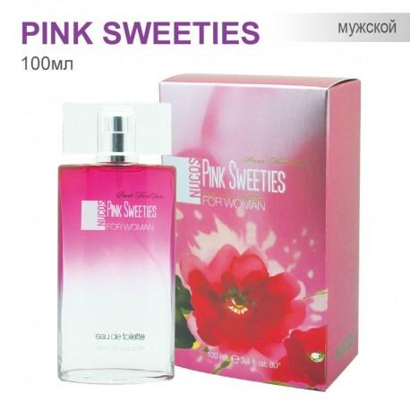 Туаленая вода для Женщин Nucos - Pink Sweeties