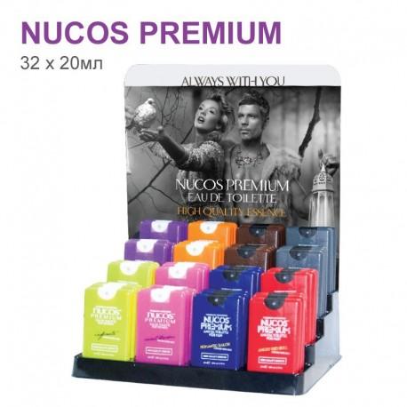 Набор туалетной воды Nucos Premium 32шт