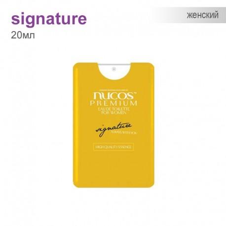 Туаленая вода для Женщин Nucos Premium - Signature