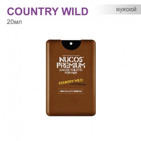 Туаленая вода для Мужчин Nucos Premium - Country wild