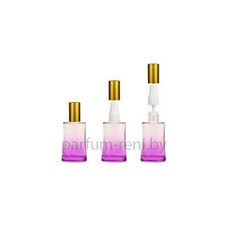 Флакон Ирис 30мл фиолетовый (спрей полулюкс серебро)