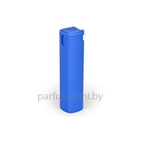 Флакон Квадрат спрей пластик 12мл голубой