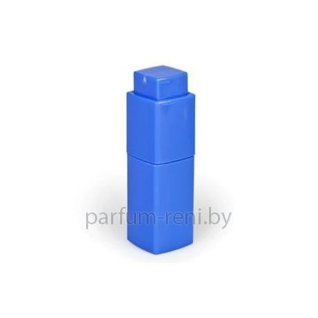 Флакон Квадрат твист пластик 10мл голубой