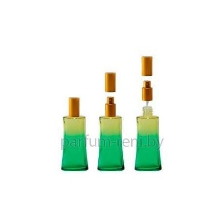 Флакон Ирис 50мл зеленый (спрей люкс серебро)
