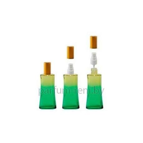 Флакон Ирис 50мл зеленый (спрей полулюкс серебро)