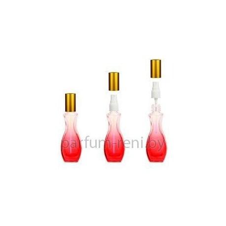 Флакон Грация 30мл красный (спрей полулюкс серебро)
