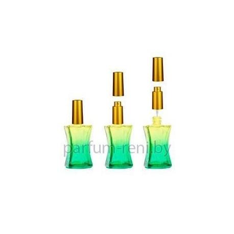 Флакон Призма 20мл зеленый (микроспрей золото)